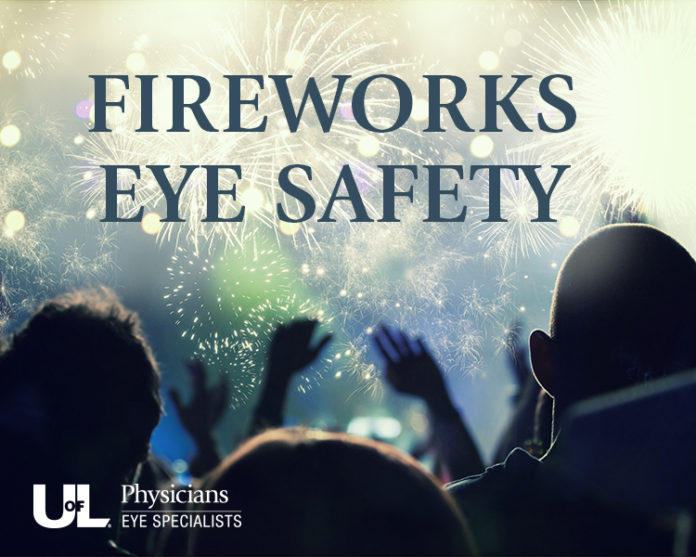 Fireworks eye safety