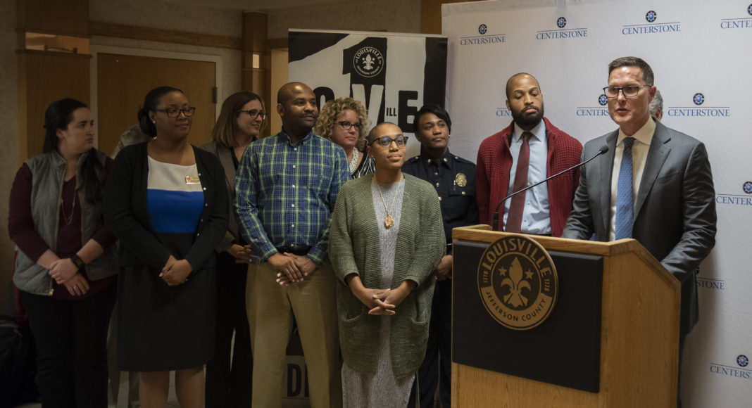 """UofL is part of the newly-announced Trauma Resilient Community Initiative, which will use a community-based approach to build a """"trauma-informed"""" system of care and services to children and families exposed to violence."""