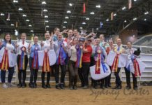 UofL's national championship Saddle Seat Team. Photo courtesy of Sydney Carter Photography.