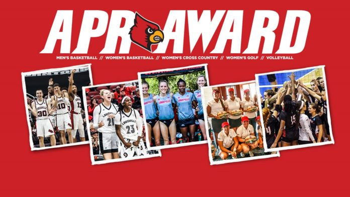 UofL's men's and women's basketball, women's cross country, women's golf and volleyball are among the top 10% in their respective sports in the latest multiyear APR.