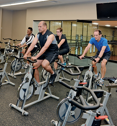 The Wellness Center moved from a 2,000-square-foot space in the Crawford Gym to the newly-renovated 22,000-square-foot space in the spring of 2013.