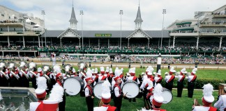 "The UofL Cardinal Marching Band has been the ""Official Band of the Kentucky Derby"" since 1936."