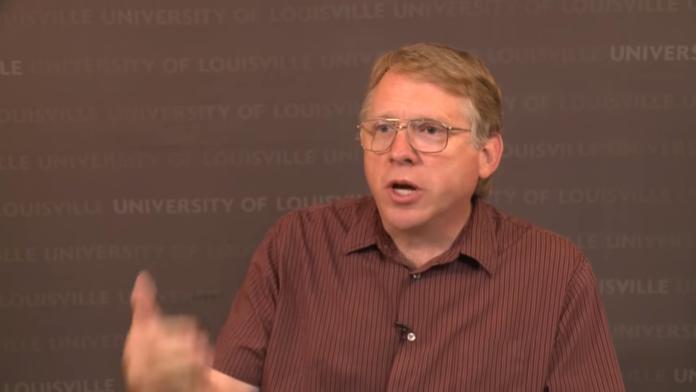 UofL dynamic meteorology professor Tim Dowling.
