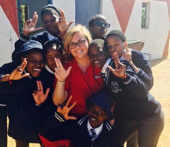 Ten Kent School students recently participated in UofL's International Service Learning Program (ISLP) in Botswana.