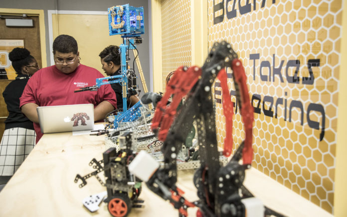 UofL's Speed School of Engineering will be hands-on at Central High School with the creation of a 'maker space' for learning in the STEM fields.