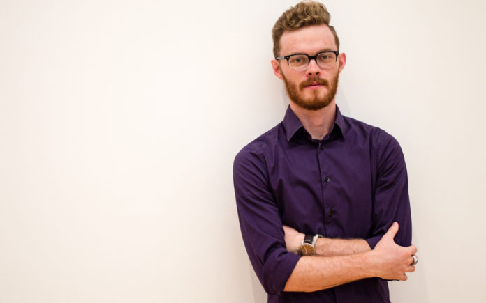 Graduate student James May is UofL's first George J. Mitchell Scholar.