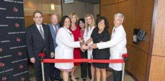 UofL Care Partners ribbon-cutting