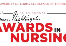 Winners of the UofL Florence Nightingale Awards in Nursing will be honored at an event on Nov. 8 at the Mellwood Art & Entertainment Center.