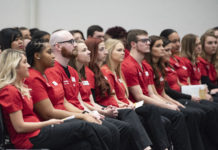 The 2018-19 nursing cohort is one of the most diverse in school history.