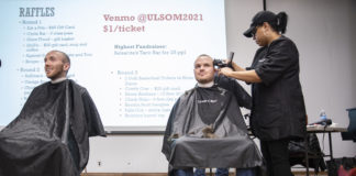The Shaved Heads event raised more than $3,600 for RaiseRED, and fundraising will continue through Feb. 23 when the campaign culminates in an 18-hour dance marathon.