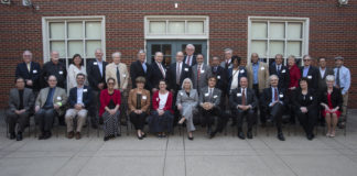 The annual Faculty Service Awards program was held last week at the U Club, recognizing faculty members for their milestone years of employment at UofL.