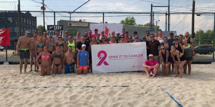 Participants in the 2018 Spike it to Cancer Tournament