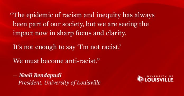 Cardinal Anti-Racism Agenda launch.