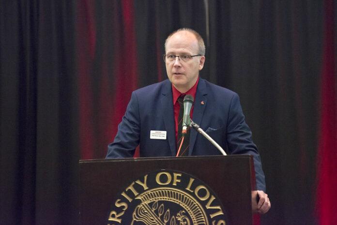 Allen Morris, executive director of the UofL Commercialization EPI-Center