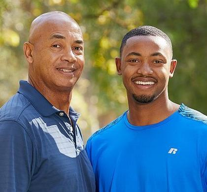 Jerry Eaves '86 and Frank Eaves